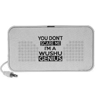 WUSHU GENIUS DESIGNS PC SPEAKERS