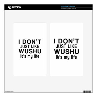 WUSHU IS MY LIFE KINDLE FIRE DECAL