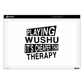 WUSHU IT IS CHEAPER THAN THERAPY DECALS FOR LAPTOPS