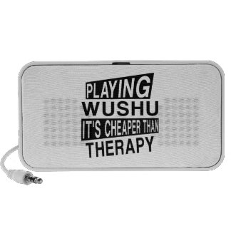WUSHU IT IS CHEAPER THAN THERAPY PORTABLE SPEAKERS