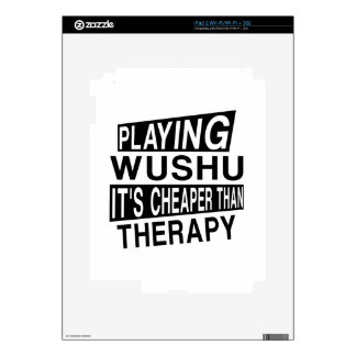 WUSHU IT IS CHEAPER THAN THERAPY SKINS FOR iPad 2