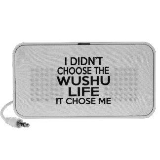 WUSHU LIFE DESIGNS MP3 SPEAKER