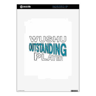 WUSHU OUTSTANDING PLAYER iPad 2 SKINS