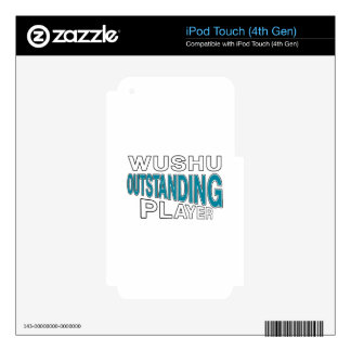 WUSHU OUTSTANDING PLAYER iPod TOUCH 4G SKINS