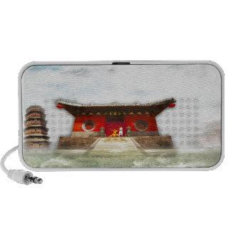 Wushu Shaolin Productions Promotional Merchandise Laptop Speaker