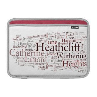 Wuthering Heights Macbook air sleeve