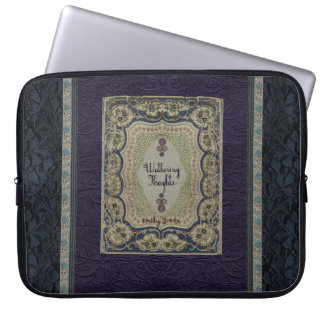 Wuthering Heights Vintage Book Design Laptop Sleeve