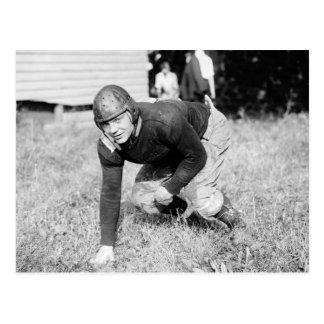 WV Wesleyan Football 1919 Post Card