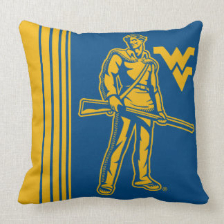 WVU Mountaineer Cushion