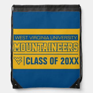 WVU Mountaineers Alumni Drawstring Bags