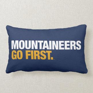 WVU Mountaineers Go First Lumbar Cushion