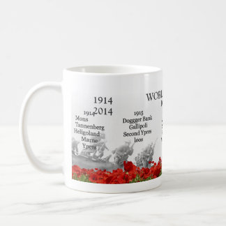 WW1 centenary Basic White Mug