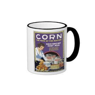 WW1 Food Administration Vintage Corn Ringer Mug