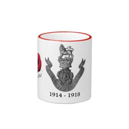 WW1 Loyal North Lancashire Regiment Mug