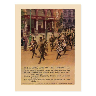 WW1 Tipperary Postcard