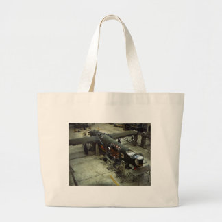 WW2 Airplane Factory 1940s Tote Bag