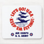 WW2 Army Air Corps Mouse Pads