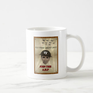 WW2 ARP Recruiting Poster Basic White Mug