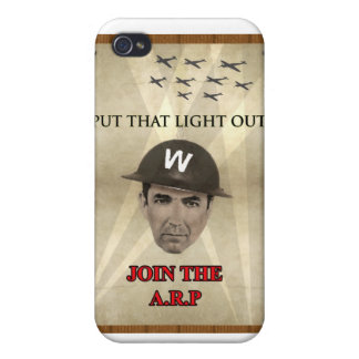 WW2 ARP Recruiting Poster iPhone 4 Cover