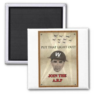 WW2 ARP Recruiting Poster Refrigerator Magnet
