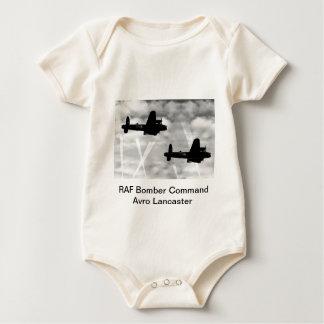 WW2 Avro Lancaster Bomber Baby Bodysuit