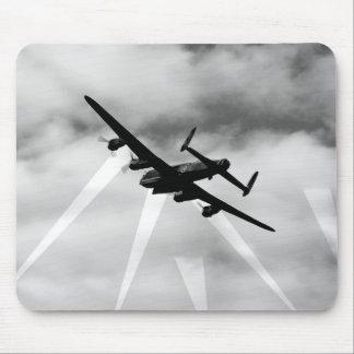 WW2 Avro Lancaster Bomber Mouse Pad