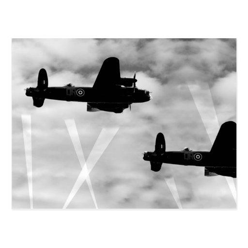 WW2 Avro Lancaster Bomber Post Card