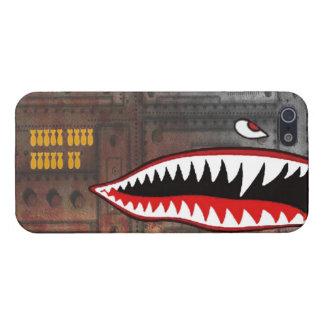 WW2 bomber shark teeth iPhone 5 Covers