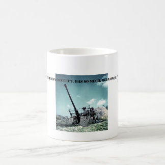 WW2 Churchill Quote - ARMY Coffee Mug