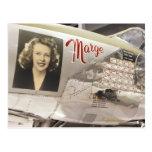 WW2 Fighter Plane Nose Art Postcard