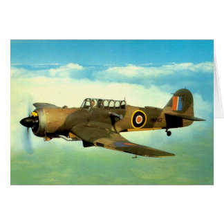 WW2 Historic Aircraft in Flight Card