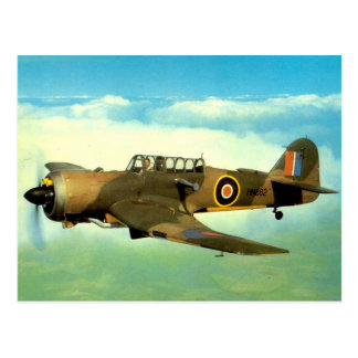 WW2 Historic Aircraft in Flight Postcard