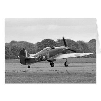 WW2 Hurricane Fighter Plane Card