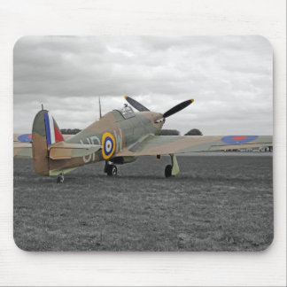 WW2 Hurricane Fighter Plane Mouse Mat