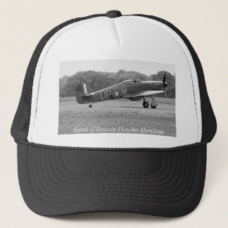 WW2 Hurricane Fighter Plane Trucker Hat