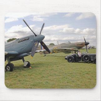 WW2 Hurricane & Spitfire Mouse Pad