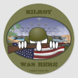 WW2 Kilroy Sticker