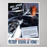 WW2 Navy Poster