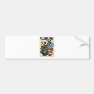 ww2 poster Victory garden Bumper Sticker
