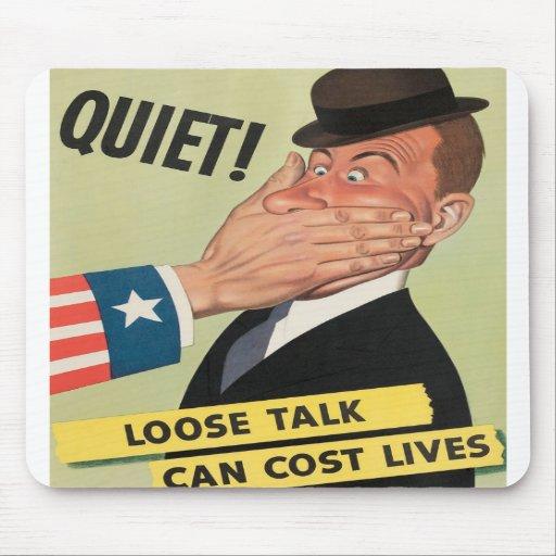 WW2 Propaganda Poster Mouse Pads