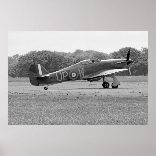 WW2 RAF Hawker Hurricane Poster