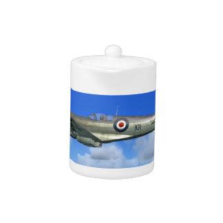 WW2 Spitfire Mk15 Fighter Plane Teapot