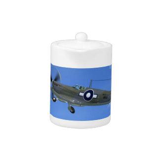 WW2 Spitfire Mk3 Fighter Plane Teapot