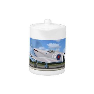 WW2 Spitfire Mk7 Fighter Plane Teapot