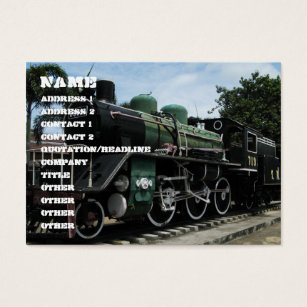 Steam train business cards business card printing zazzle uk ww2 steam train at the river kwai bridge business card reheart Images