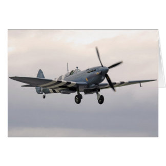 WW2 Supermarine Spitfire Plane Card