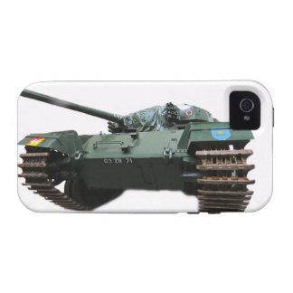 WW2 Tank Vibe iPhone 4 Cases