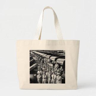 WW2 Truck Ladies, 1940s Jumbo Tote Bag
