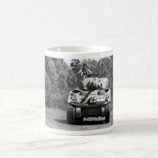 WW2 US Army Sherman Tank Mug