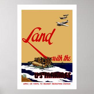 WW2 US Marine Recruiting Poster